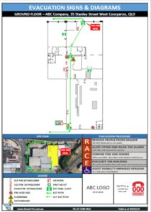Install Evacuation Signs & Diagrams