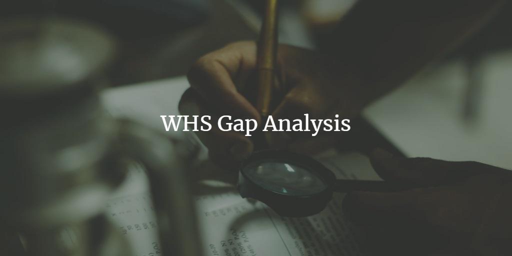 WHS-Gap-Analysis